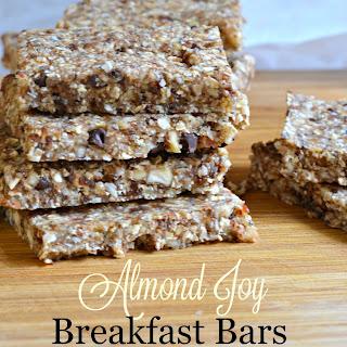 No Bake Almond Joy Breakfast Bars