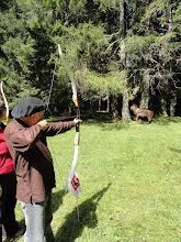 Photo: Tir à l'arc avec les moniteurs du club de Tavannes