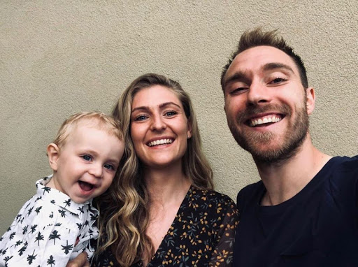 How Christian Eriksen's partner Sabrina Kvist Jensen gave up career to become WAG, mum & best pal to Harry Kane's wife