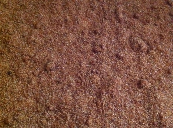 In smaller bowl mix together brown sugar, and cinnamon. spoon this over the batter...