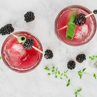 Blackberry, Sage + Grapefruit Mocktail Recipe