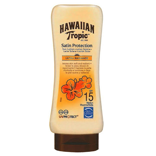 Hawaiian Tropic Satin Protect Sunlotion SPF15 180ml