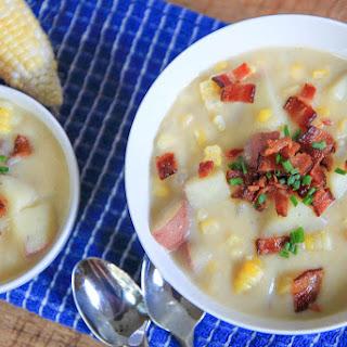 Creamy (no Cream!) Corn Chowder