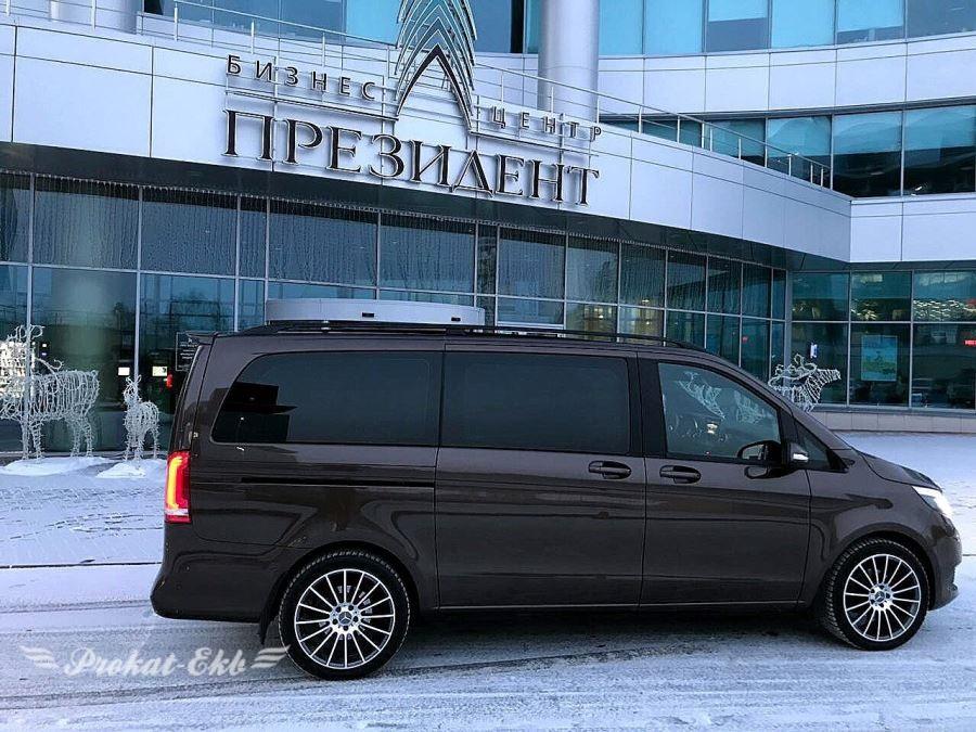 Mercedes V-class в Екатеринбурге