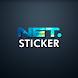 NET. Sticker