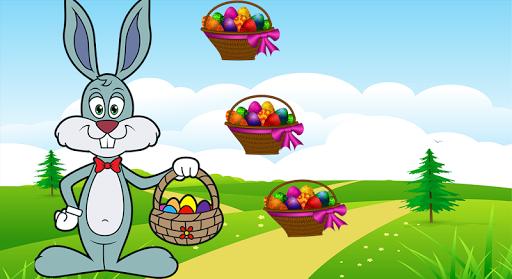 Rabbit and eggs crazy
