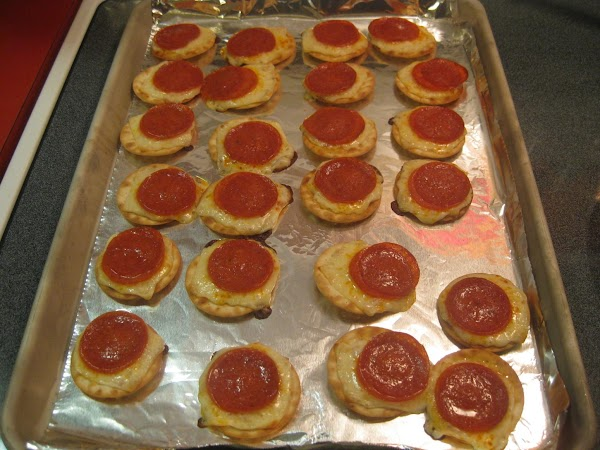 Bake for 7-10 minutes or until cheese is melted.  NOTE: Pictures represent a...
