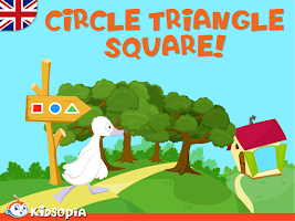 Screenshot of Circle Triangle Square!