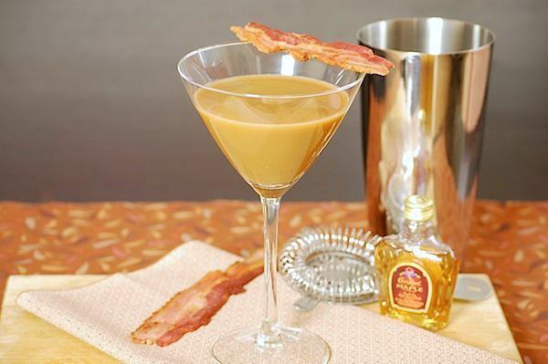 Bacon, Coffee & Maple Whiskey Martini