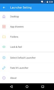 M Launcher Pro-Marshmallow 6.0 v1.2.6