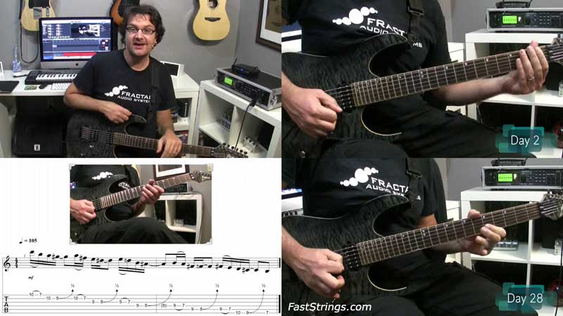 David Wallimann - 30 Day Pentatonic Challenge