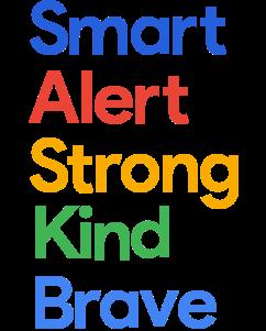 Smart Alert Strong Kind Brave logo