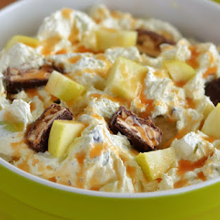 Snickers Caramel Apple Salad.