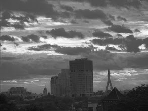 Photo: Morning clouds