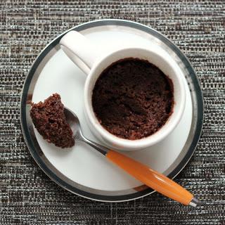 Chocolate Cake in a Mug.