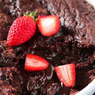 Chocolate Self Saucing Pudding.
