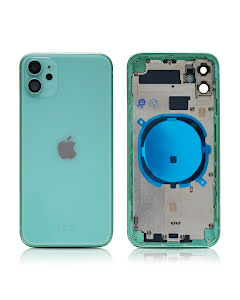 iPhone 11 Housing without small parts HQ Green