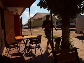 Photo: Zamawiamy po piwku, kawie i czekamy na jadło. (zdjęcie Grzesia)
