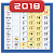 Monthly Calendar & Holiday file APK Free for PC, smart TV Download