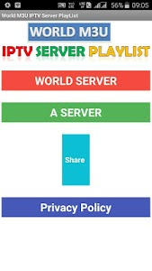 World M3U IPTV Server PlayList 8.0