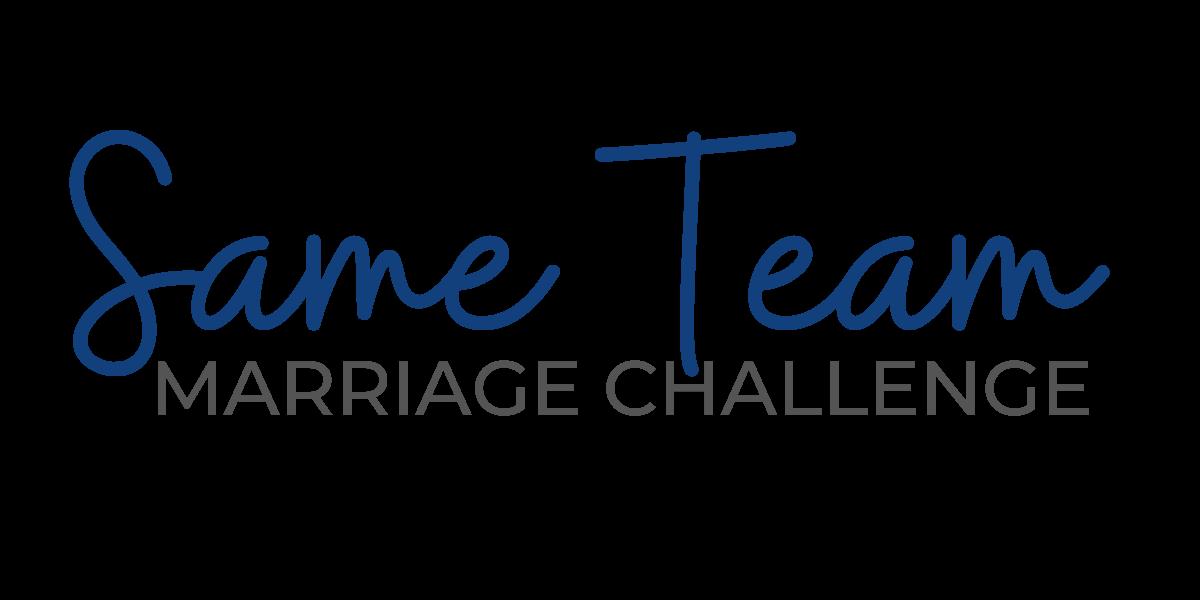 Same team marriage challenge text