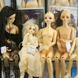 tiny dolls for sale at Nakano Broadway in Tokyo, Tokyo, Japan