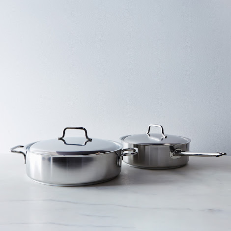Demeyere Sauté Pan with Lid