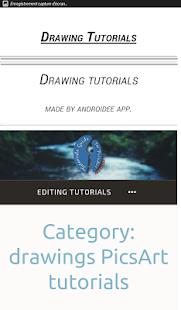 Tutorials Guide for PicsArt
