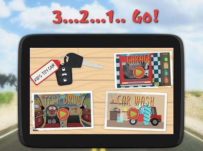 Kids Toy Car Driving Game Free- screenshot thumbnail