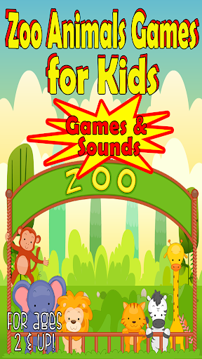 Zoo Animal Games for Toddlers