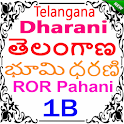Telangana Land Records - TS Dharani ROR Pahani 1B icon