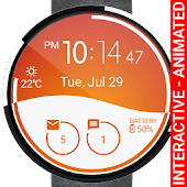 Morphing Watch Face