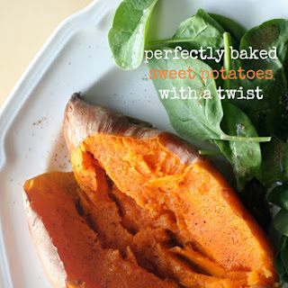 Perfectly Baked Sweet Potatoes