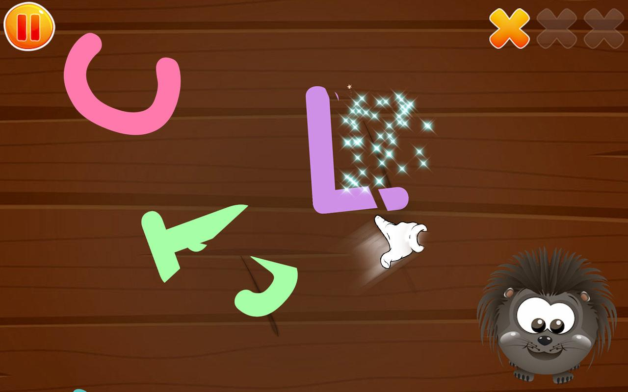 Alphabets Puzzle for baby kids- screenshot