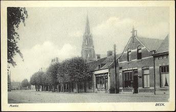 Photo: 1932 Markt Beek (toen nog Princenhage)