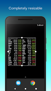 Stocks Widget- screenshot thumbnail
