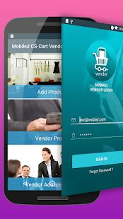 Mobikul CS-Cart Vendor application builder - náhled