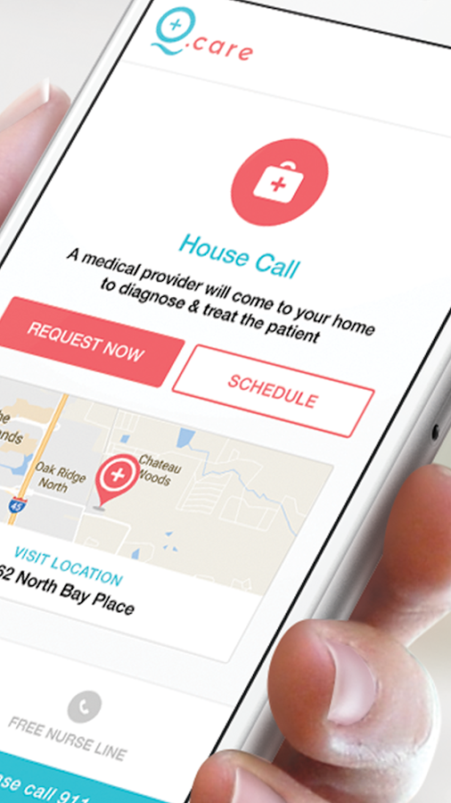 Q.care - On-Demand Healthcare- screenshot