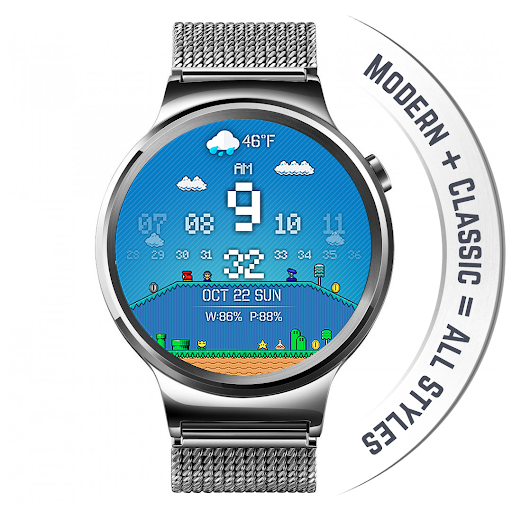 Watch Face - Minimal & Elegant for Android Wear OS  screenshots 14