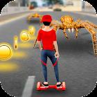 Hoverboard Racing Spider Attack icon