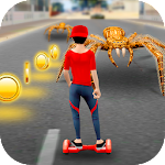 Hoverboard Racing Spider Attack 2.0 Apk