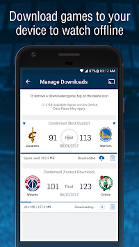 NBA App APK screenshot thumbnail 5