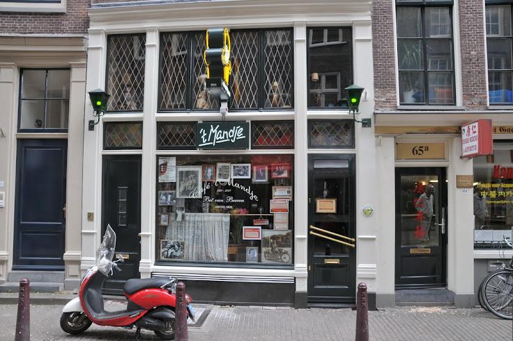 Cafe 't Mandje at daytime.  Photo: Cafe 't Mandje.