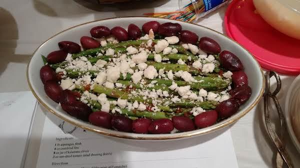 Asparagus Greek Salad Recipe
