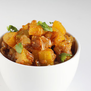 Kaddu Ki Sabzi | Pumpkin Curry
