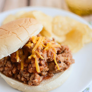 Maple BBQ Sloppy Joes