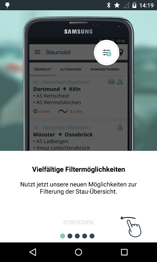StauMobil- screenshot