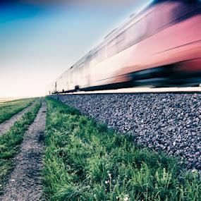 trains by Dominik Konjedic - Transportation Trains ( trains )