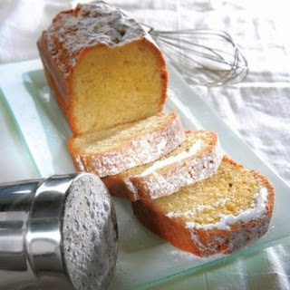 Almond Cake With Olive Oil And Orange Zest