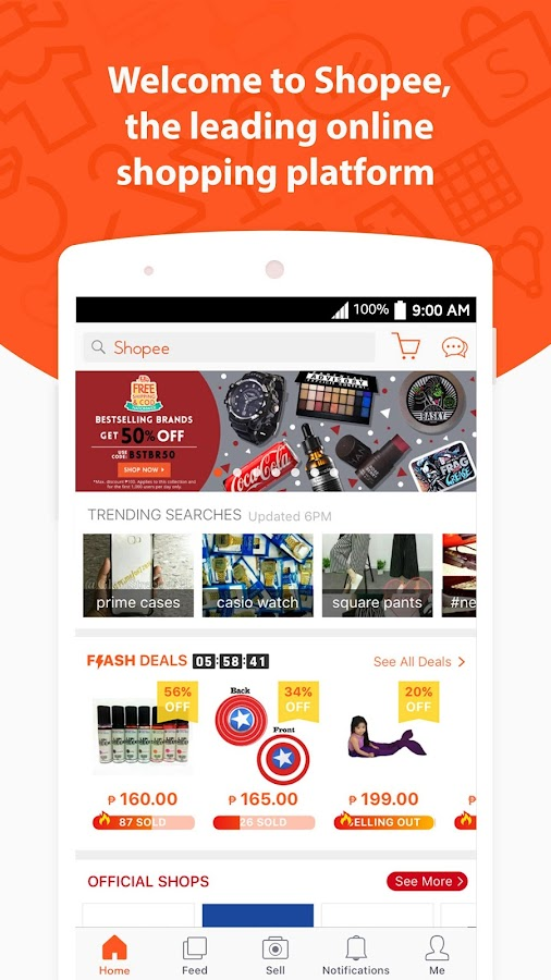 Shopee 9.9 Mobile Shopping Day: Up to 90% off select items